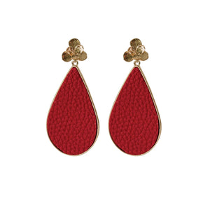 MICHELLE MCDOWELL MIAMI EARRINGS RED