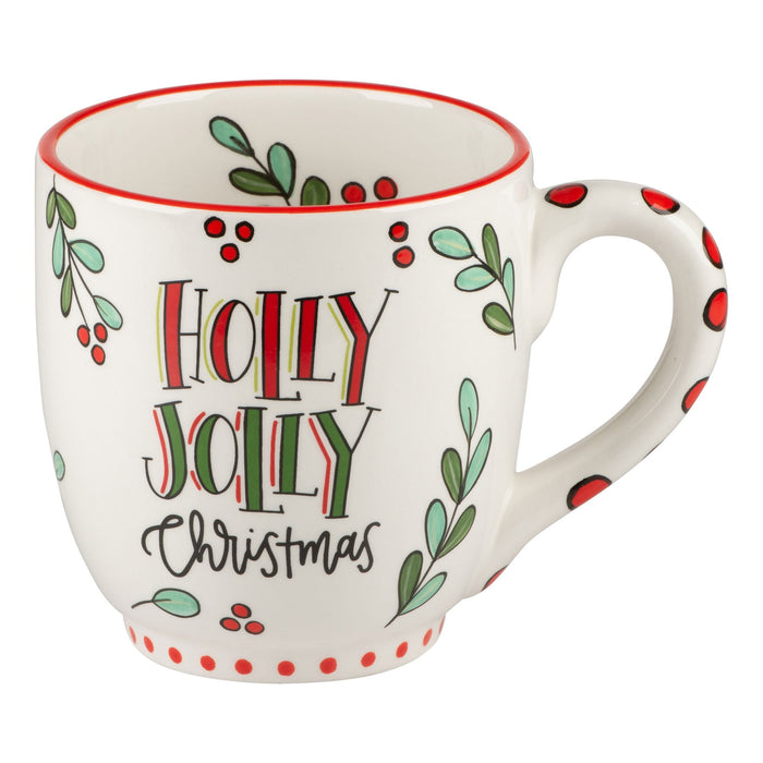 Glory Haus Holly Jolly Christmas Mug