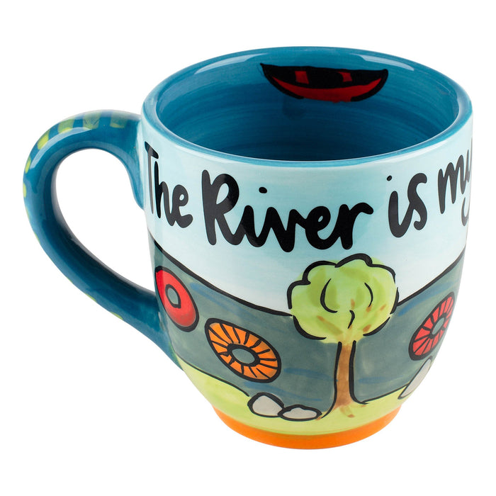 Glory Haus The River is My Happy Place Mug