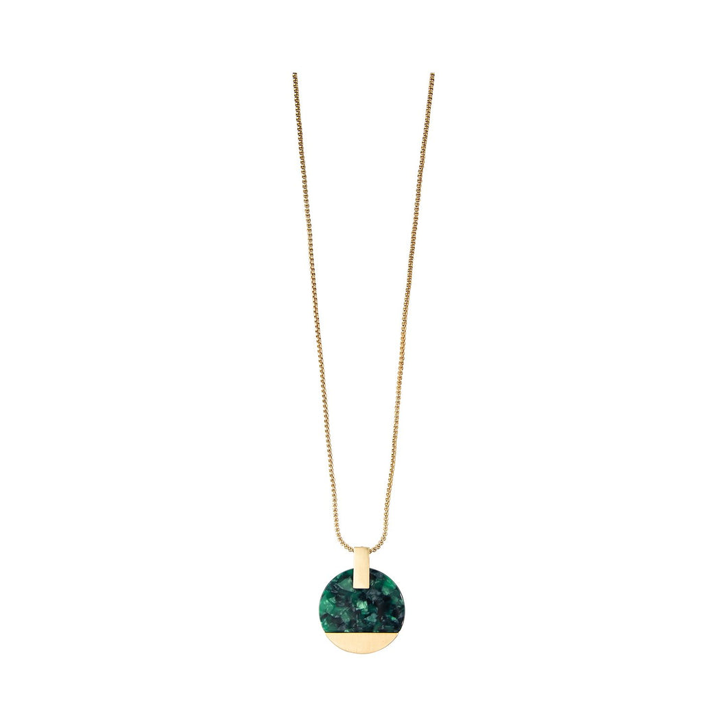 Michelle McDowell Paris Green Necklace