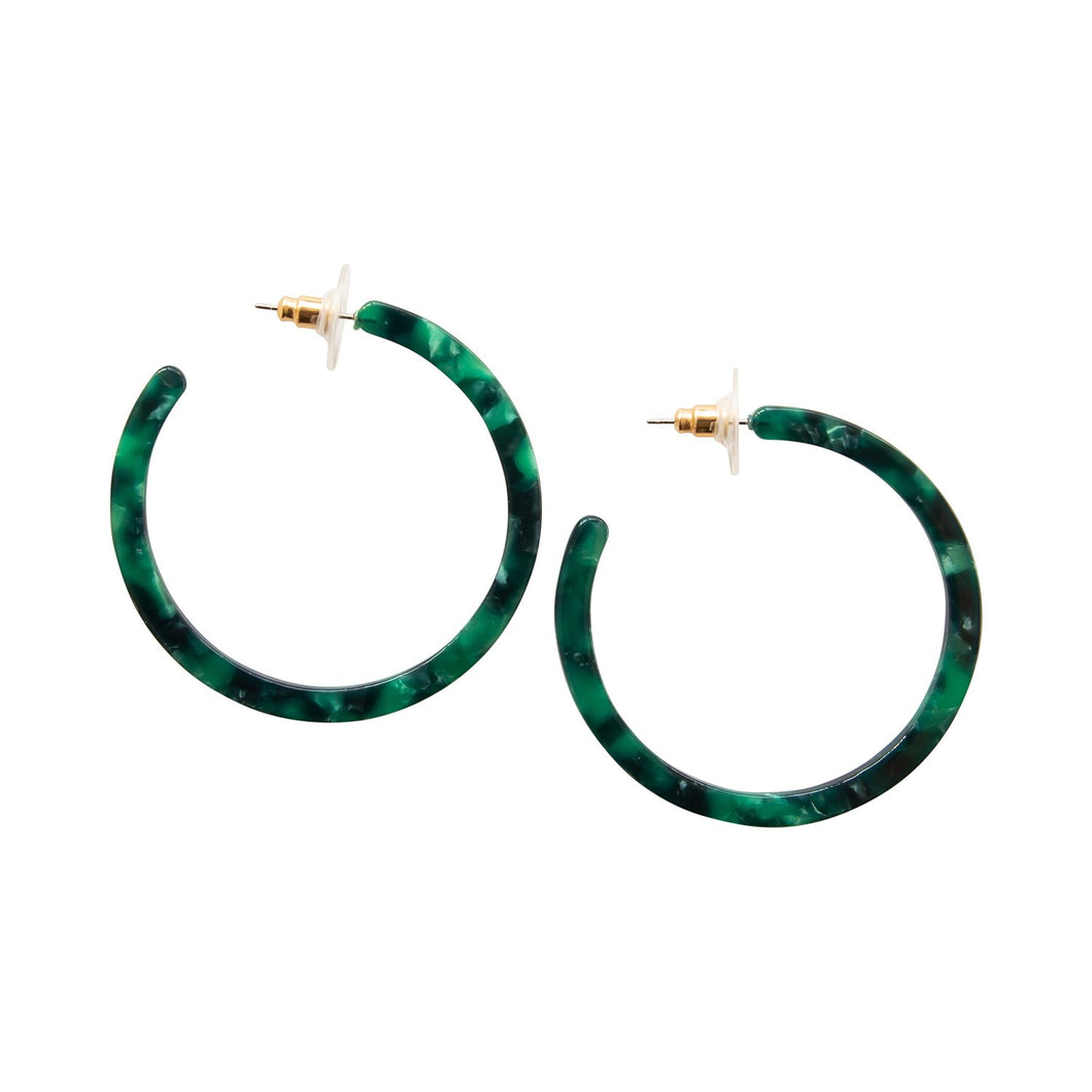 Michelle McDowell Green Denali Earrings