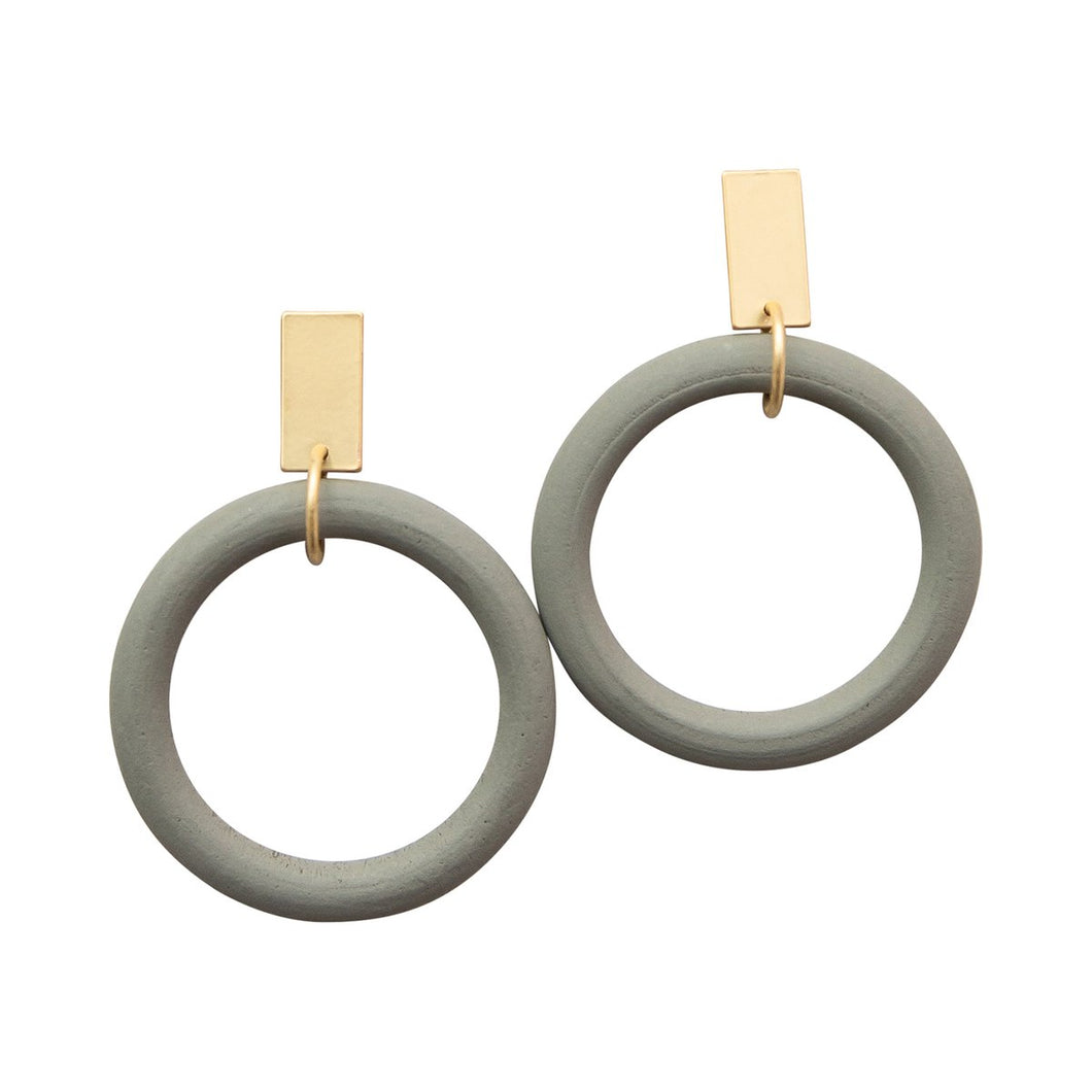 Copy of Michelle McDowell Branford Gray Earrings