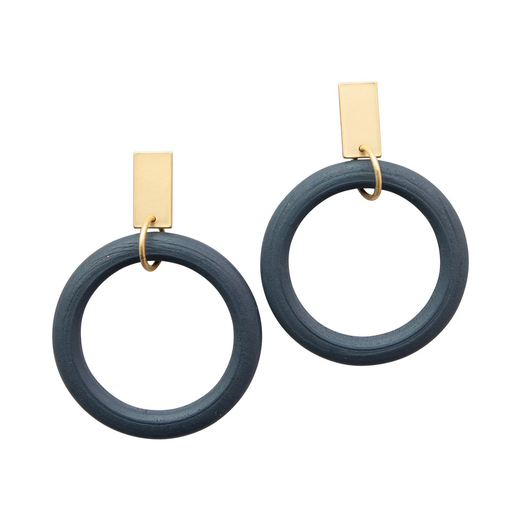 MIchelle McDowell Navy Bradford Earrings