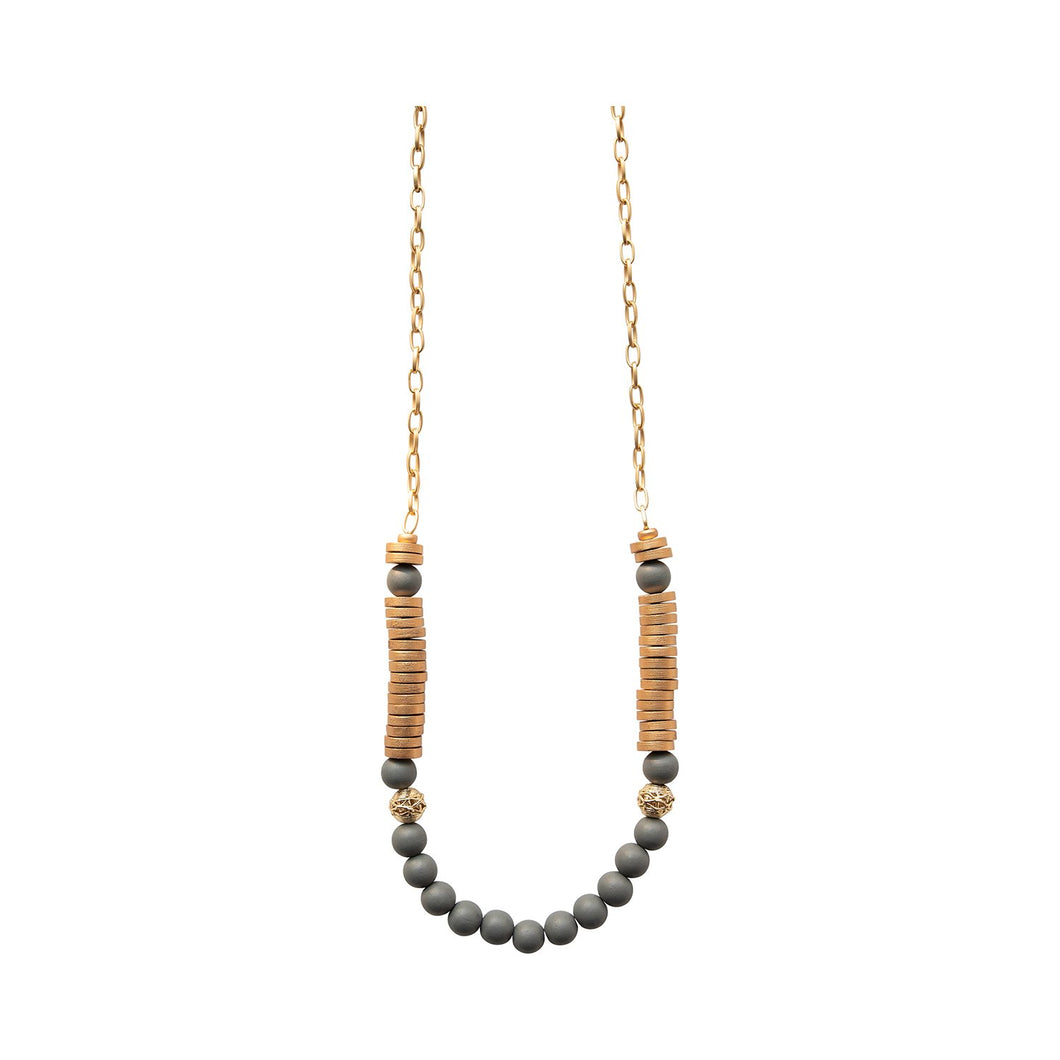 Michelle McDowell Gray Delray Necklace