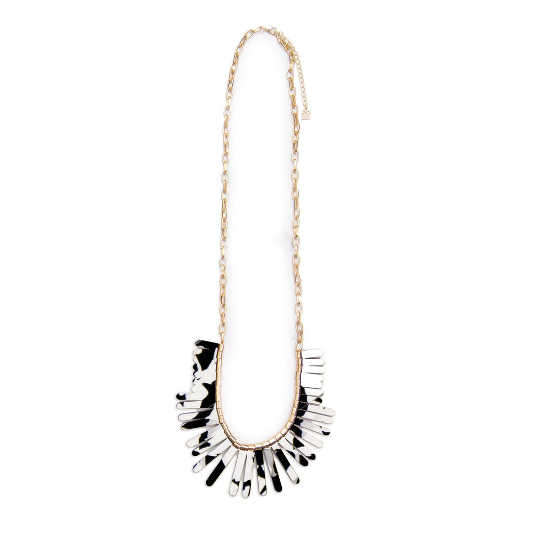 MICHELLE MCDOWELL HENDERSON NECKLACE BLACK