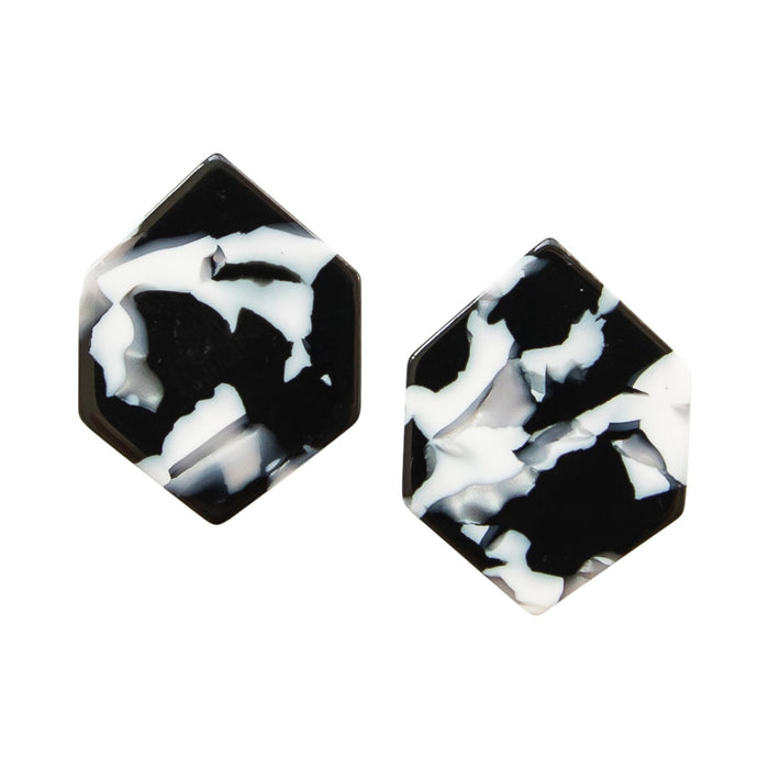 Michelle McDoweel Mayfield Black Earrings