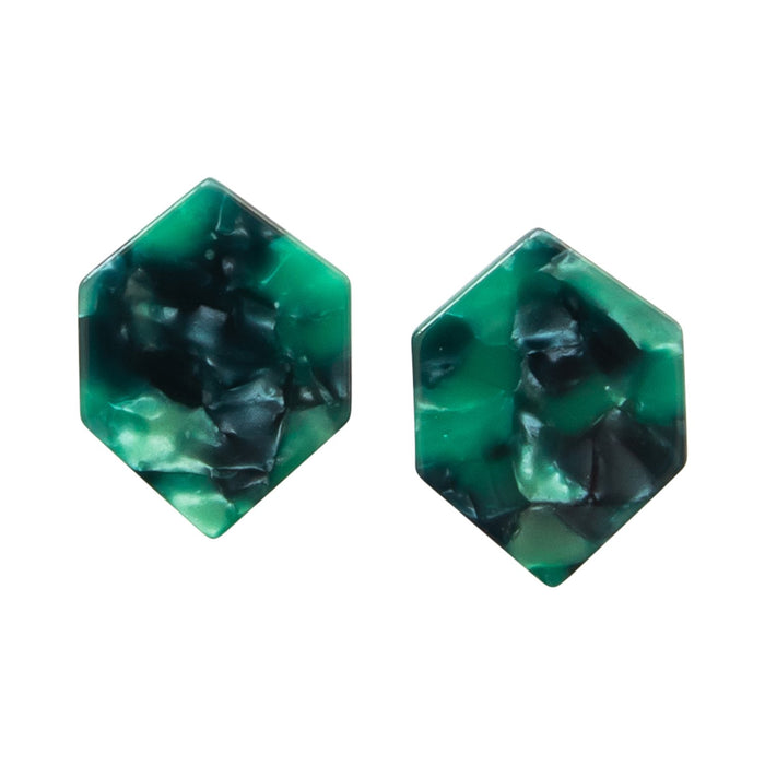 Michelle McDowell Mayfield Green Earrings