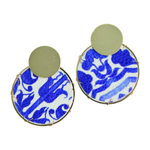 MICHELLE MCDOWELL LASSEN CHINOSERIE EARRINGS