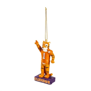 Evergreen Clemson University Mascot Statue Ornament