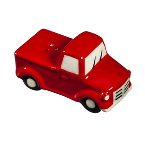 Evergreen Truck and Tree Stackable Salt and Pepper Shakers
