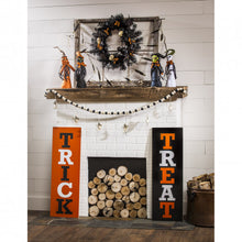 Load image into Gallery viewer, Evergreen Reversible Harvest/Halloween Wooden Mantel/Wall Sign, Set of 2