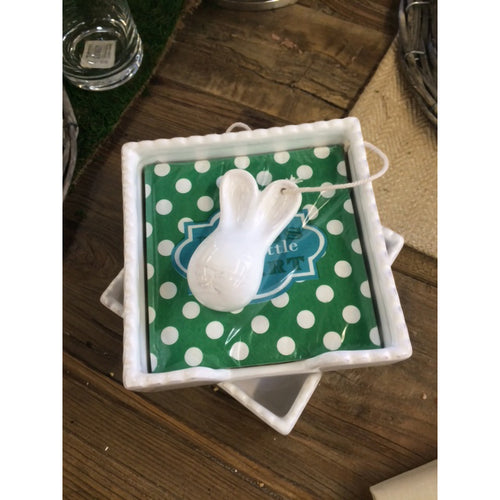 The Royal Standard Bunny Napkin Holder