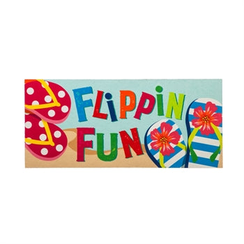 Evergreen Flippin Fun Flip Flops Sassafras Switch Mat