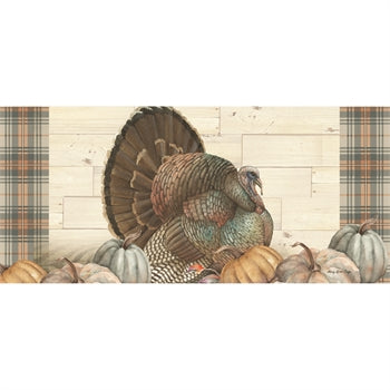 Evergreen Pumpkin Time Turkey Sassafras Switch Mat