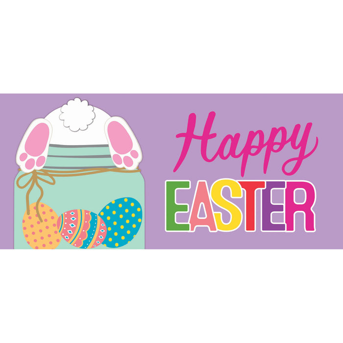 Evergreen Easter Bunny Mason Jar Sassafras Switch Mat