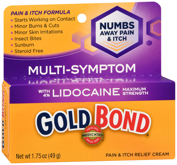 Gold Bond Pain / Itch Lidocaine Cream 1.75oz