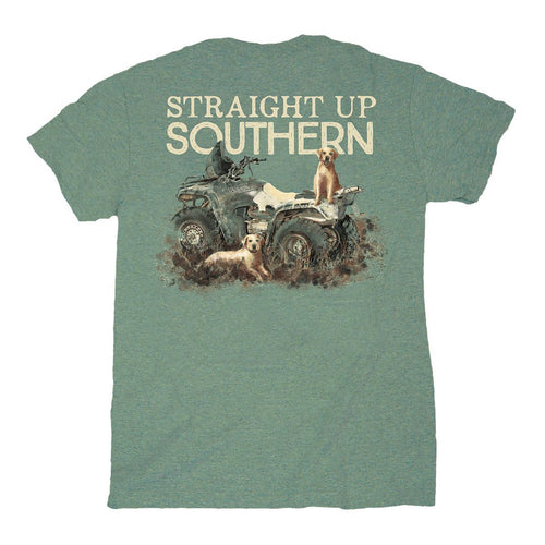 STRAIGHT UP SOUTHERN FOUR WHEELER LABS SHORT SLEEVE T-SHIRT