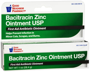 Good Neighbor Pharmacy Bacitracin Zinc Ointment 1oz