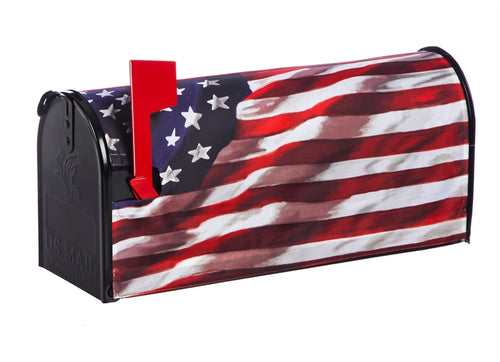 EVERGREEN AMERICA IN MOTION MAILBOX COVER