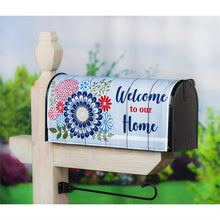 Load image into Gallery viewer, EVERGREEN AMERICAN FLORAL MAILBOX COVER