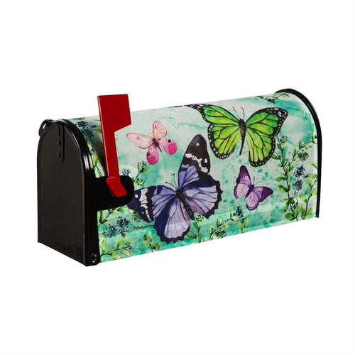 EVERGREEN SP20 BUTTERFLY FRIENDS MAILBOX COVER