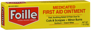 Foille Medicated First Aid Ointment, 1oz