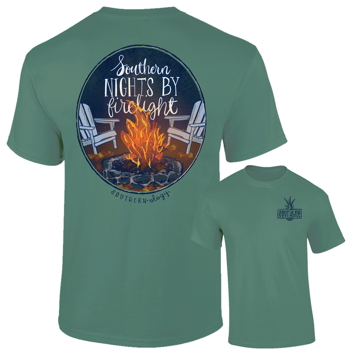 Southernology Southern Nights by Firelight Short Sleeve T-shirt