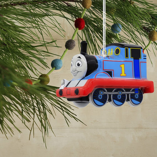 Hallmark Thomas The Tank Engine Decoupage Ornament
