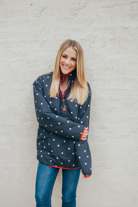 Simply Southern Dots Reversible Pullover