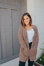 Load image into Gallery viewer, Simply Southern Chenille Brown Cardigan