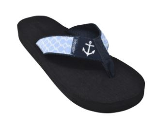 Tidewater Anchored Boardwalk Flip Flops