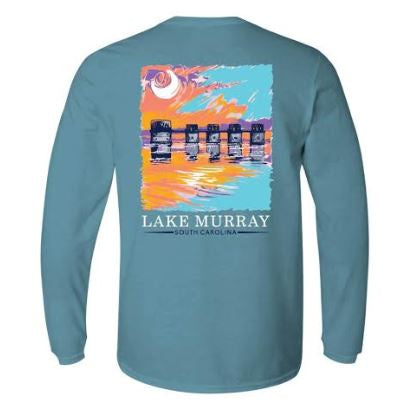 KOSS CUSTOM DESIGN - PAINTED LAKE MURRAY LONG SLEEVE