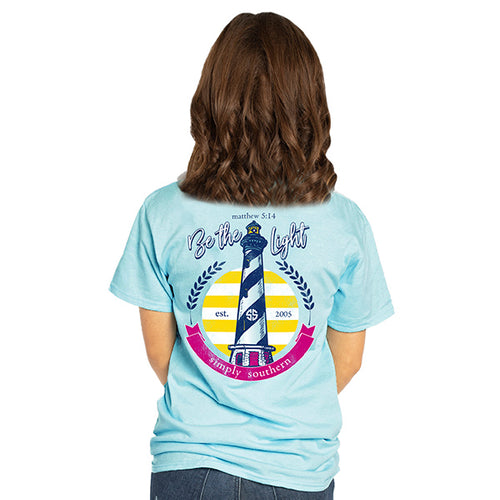 Simply Southern Collection Be The Light Short Sleeve T-shirt