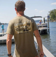 Load image into Gallery viewer, Straight Up Southern Boat Hunter T-shirt
