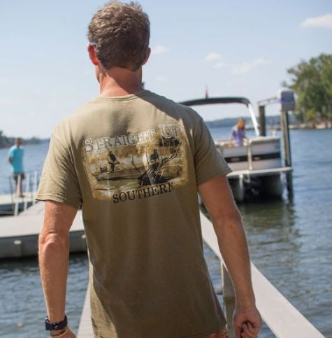 Straight Up Southern Boat Hunter T-shirt