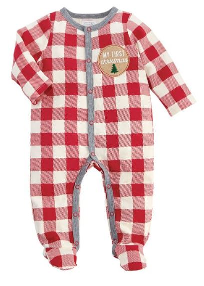 Mud Pie Buffalo Check Sleeper