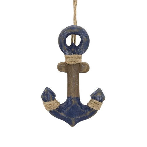 Hallmark Boat Anchor Wood Ornament