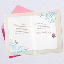 Load image into Gallery viewer, HALLMARK ROSES AND BUTTERFLIES LIKE A MOM MOTHER'S DAY CARD