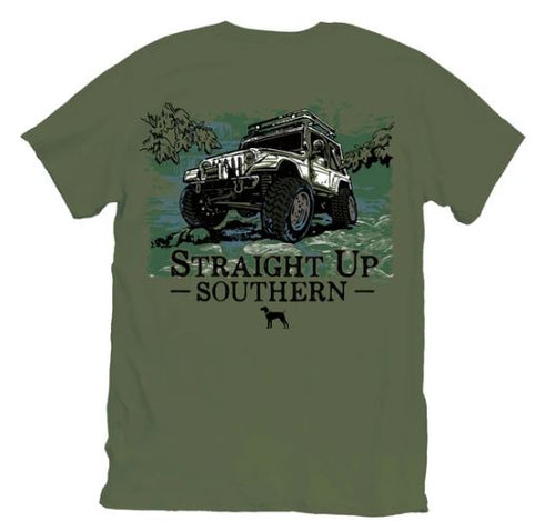 Straight Up Southern Chartless T-shirt