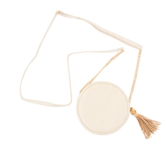 MAINSTREET COLLECTION BAMBOO CIRCLE CROSSBODY