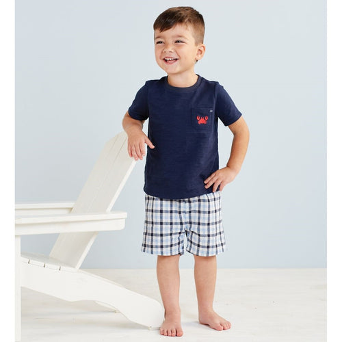 MUD PIE CRAB SHORT SET