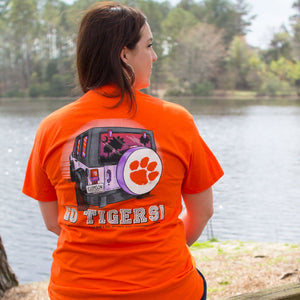 Palmetto Shirt Co. Clemson Spirit Vehicle