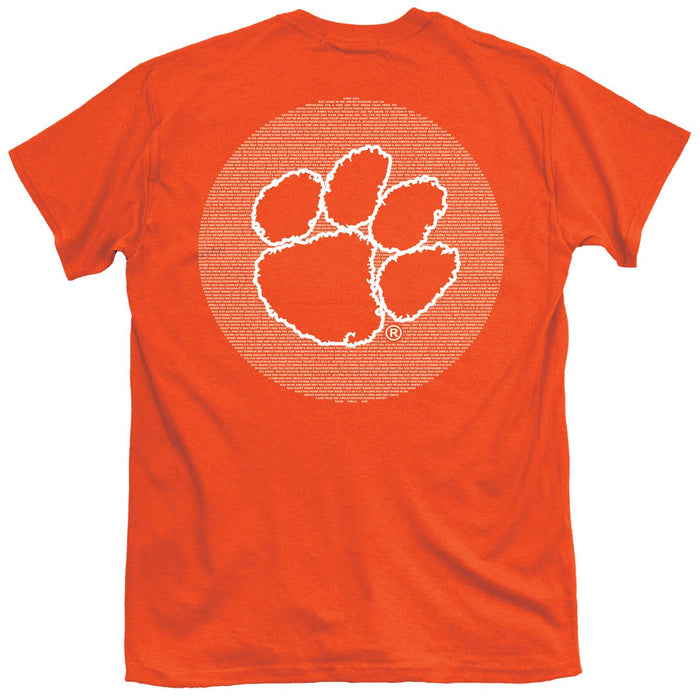 Palmetto Shirt Co. Clemson University Fight Song Short Sleeve T-shirt