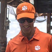 Load image into Gallery viewer, PALMETTO SHIRT CO. CLEMSON PAW HAT - ORANGE