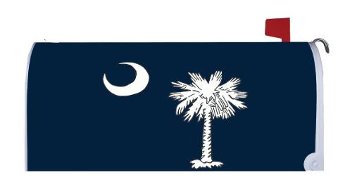 CUSTOM DECOR PALMETTO MOON MAILBOX COVER