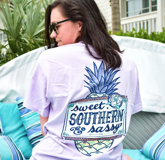 ITS A GIRL THING SWEET SOUTHERN SASS T-SHIRT