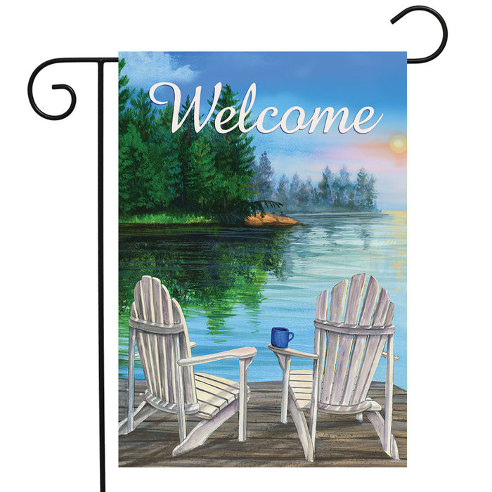 BRIARWOOD LANE DOCKSIDE GARDEN FLAG