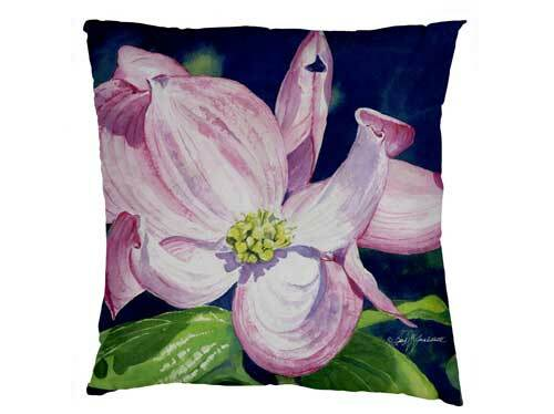 Evergreen Dogwood Interchangeable Pillow Cover