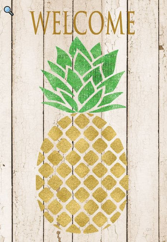 CUSTOM DECOR FARMHOUSE PINEAPPLE HOUSE FLAG