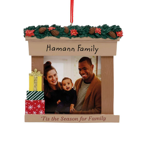 Hallmark Family Frame Personalized Ornament